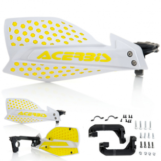Acerbis X-Ultimate Handguards - White Yellow