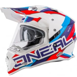 ONeal Sierra 2 Adventure Helmet - Circuit White Blue
