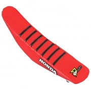D Cor Honda Gripper Factory Rib Seat Cover - Red Red Black