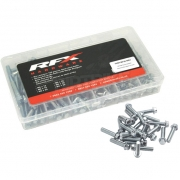 RFX M6 Flange Head Bolt Assortment Box