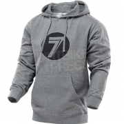 Seven Dot Pullover Hoodie - Grey Heather