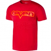 Seven Brand T Shirt - Red Red