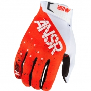 2017.5 Answer Elite LE Gloves - Halo White Fluo Red