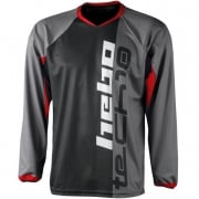 2017 Hebo Tech 10 Trials Jersey - Black Red