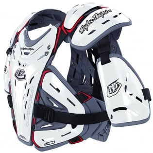 Troy Lee Designs Kids 5955 Chest Protector - White