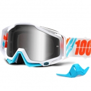 100% Racecraft Goggles - Calculus Ice Mirror Lens