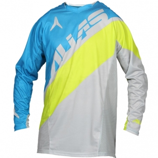 2017 Alias A1 Jersey - Floated Cyan Chartreuse