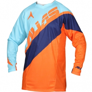 2017 Alias A1 Jersey - Floated Sky Blue Neon Orange