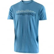 Troy Lee Designs T Shirt All Time Sky Blue Heather