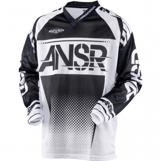 2018 Answer Syncron Air Jersey - Black White
