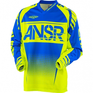 2018 Answer Syncron Jersey - Acid Blue