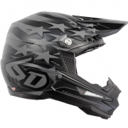 6D ATR-1 Helmet - Patriot Matte Black