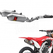 Akrapovic Stainless Exhaust System - Honda CRF 450 2017-Current