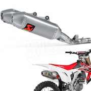 Akrapovic Titanium Slip On Silencers - Honda CRF 250 2016-Current