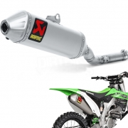 Akrapovic Titanium Slip On Silencer - Kawasaki KXF 250 2009-2016