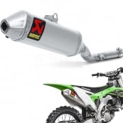 Akrapovic Titanium Slip On Silencer - Kawasaki KXF 250 2017-Current