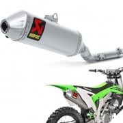 Akrapovic Titanium Slip On Silencer - Kawasaki KXF 450 2016-Current