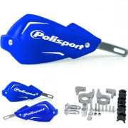 Polisport Touquet Handguards - Blue