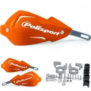 Polisport Touquet Handguards - Orange