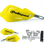 Polisport Touquet Handguards - Yellow