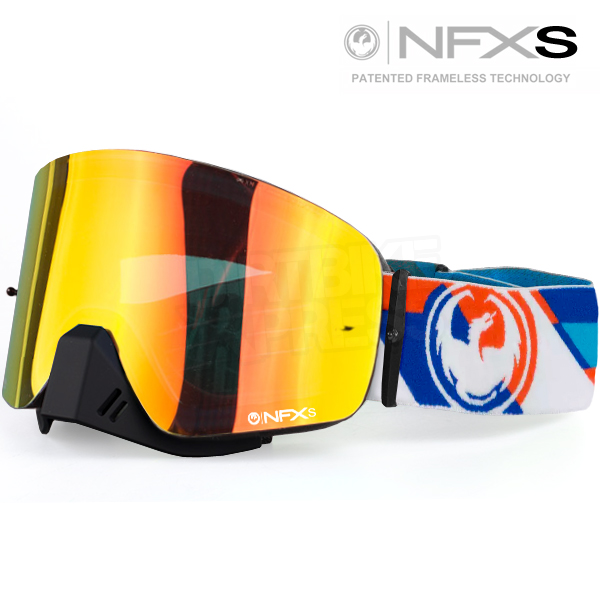 9f8c781f2bef Enlarge Watch Video · Dragon NFXS Goggles - Shear Yellow Red Ionized ...