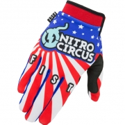 FIST Handwear Strapped Gloves - Nitro Circus Stars & Stripes