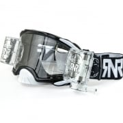 Rip n Roll Platinum WVS Roll Off Goggles - Black
