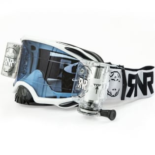 Rip n Roll Platinum WVS Roll Off Goggles - White
