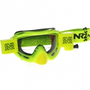 Rip n Roll Hybrid Racer Goggles - Neon Yellow