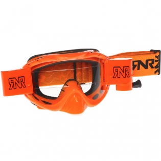 Rip n Roll Hybrid Racer Goggles - Neon Orange