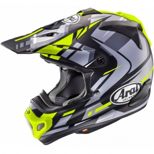 Arai MXV Motocross Helmet - Bogle Black Yellow Ltd Edition