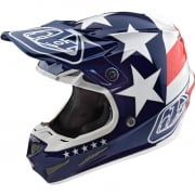 Troy Lee Designs SE4 Composite Helmet - Freedom Blue