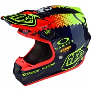 Troy Lee Designs SE4 Composite Helmet - Team Navy
