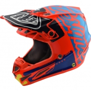 Troy Lee Designs SE4 Composite Helmet - Factory Orange