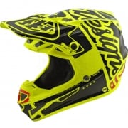 Troy Lee Designs SE4 Polyacrylite Helmet - Factory Yellow