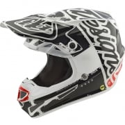 Troy Lee Designs SE4 Polyacrylite Helmet - Factory White