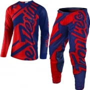 Troy Lee Designs SE Air Kit Combo - Shadow Red Navy