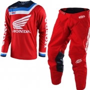 Troy Lee Designs GP Air Kit Combo - Prisma Honda Red