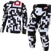 Troy Lee Designs Kids GP Air Kit Combo - Maze Black White