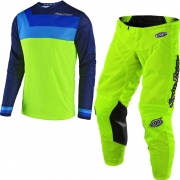 Troy Lee Designs Kids GP Air Kit Combo - Prisma Flo Yellow