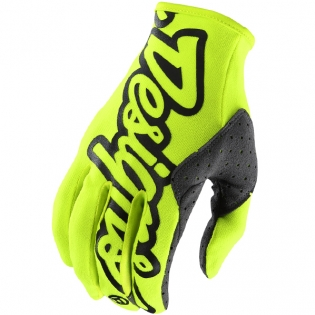 Troy Lee Designs SE Gloves - Solid Flo Yellow