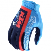 Troy Lee Designs Air Kids Gloves - Team Navy Cyan