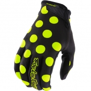Troy Lee Designs GP Air Kids Gloves - Polka Dot Black Yellow
