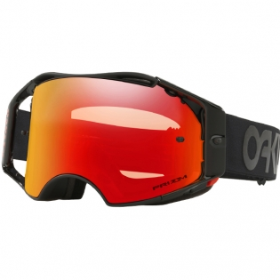 Oakley Airbrake MX Goggles - Factory Pilot Blackout Prizm Torch