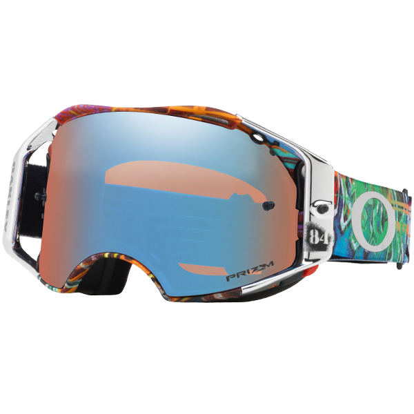 Oakley Airbrake Mx >> Oakley Airbrake Mx Goggles Herlings Signature Graffito Red White