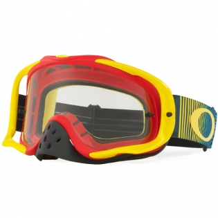 Oakley Crowbar Goggles - Shockwave Red Yellow Blue
