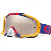 Oakley Crowbar Goggles - Pinned Race Red Blue Black Iridium