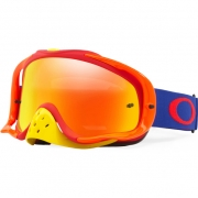 Oakley Crowbar Goggles - Flo Blue Red Fire Iridium