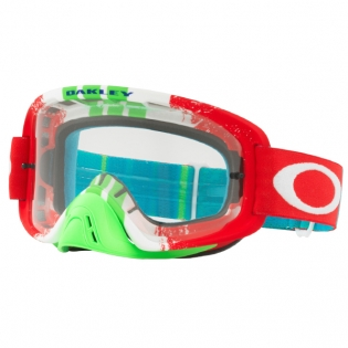 Oakley O Frame 2.0 Goggles - Pinned Race Red Green Clear