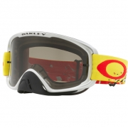 Oakley O Frame 2.0 Goggles - Checked Finish Red Yellow Grey